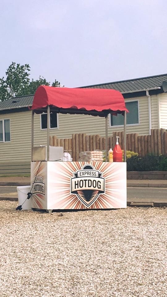 Hot Dog Trailer for hire